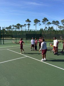 Ymca Tennis School Program  Feb, 2015