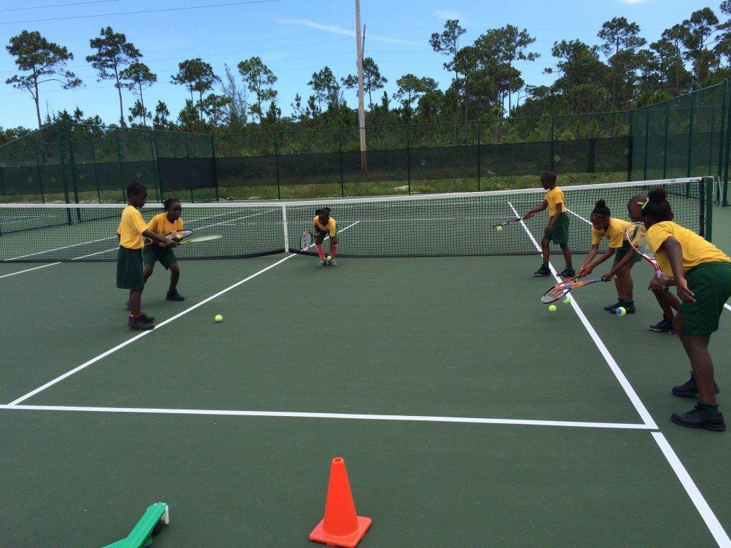 Ymca Tennis  School Program  May  22, 2015