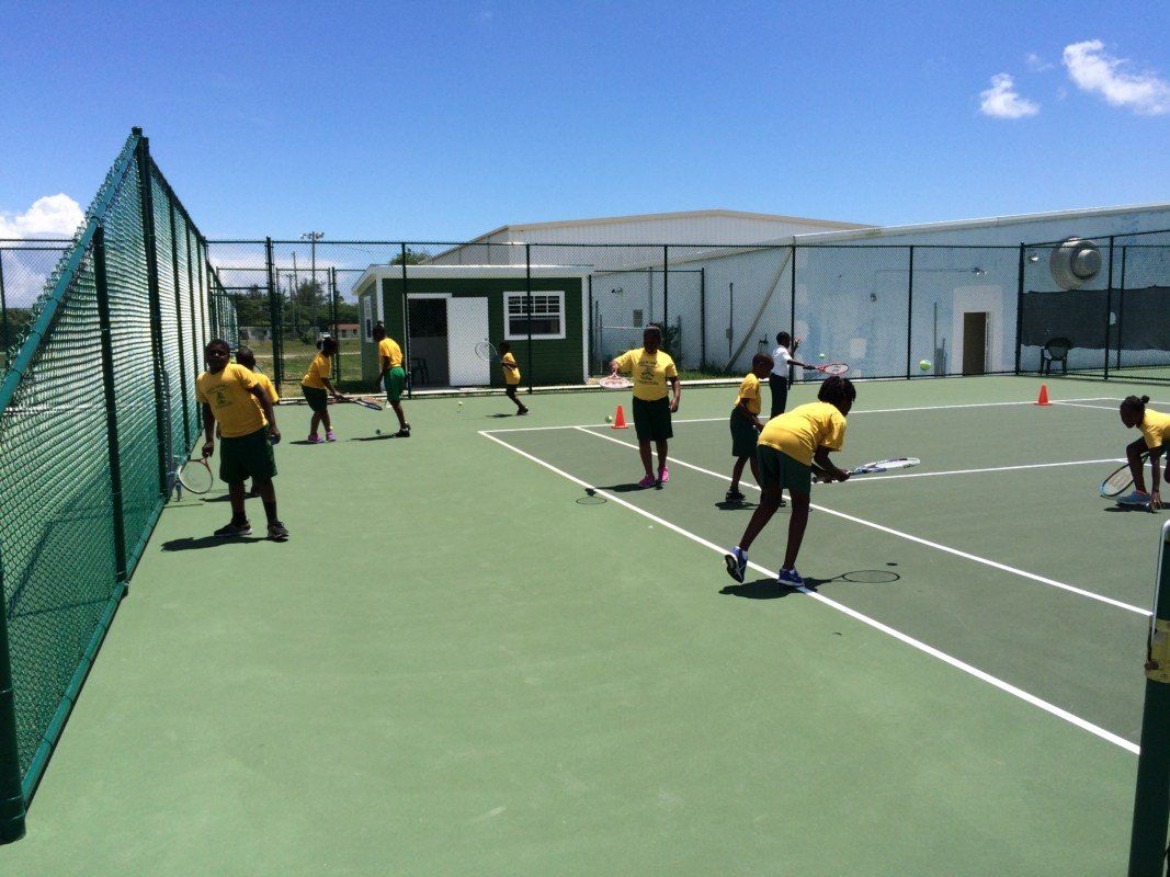 Ymca  School  Tennis  Program   May 22, 2015
