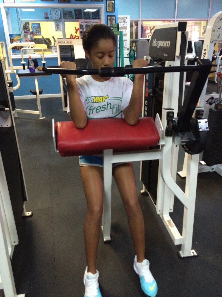 Gaby upper body workout