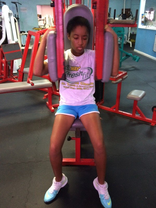 Gaby  workout