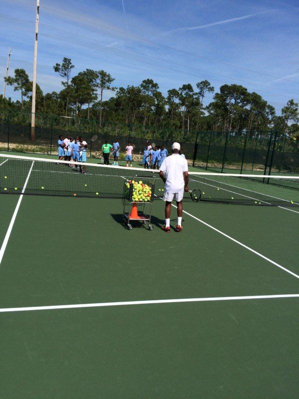 Ymca School Tennis Program  Feb,  2015
