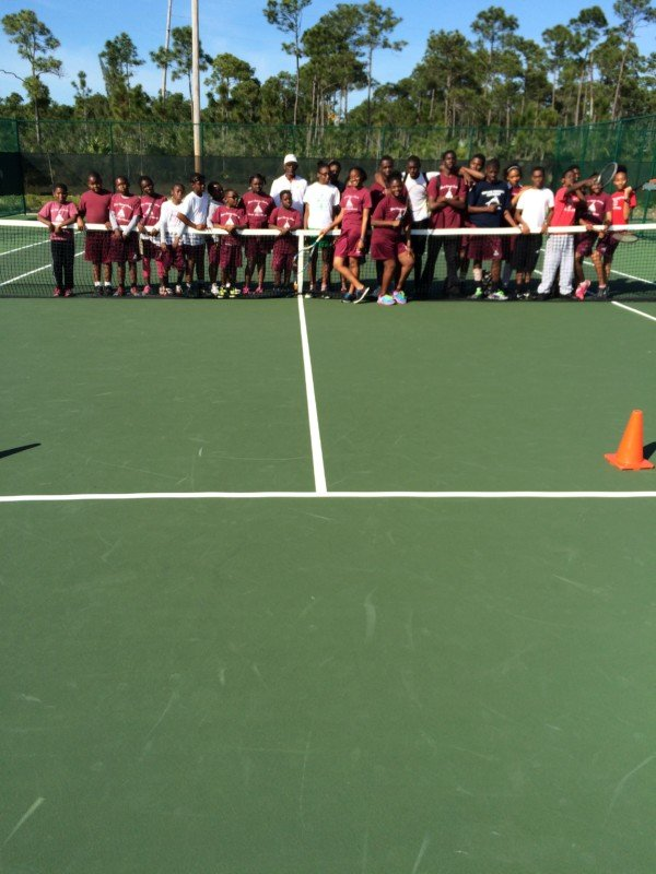 Ymca Tennis School Program  Feb, 2015