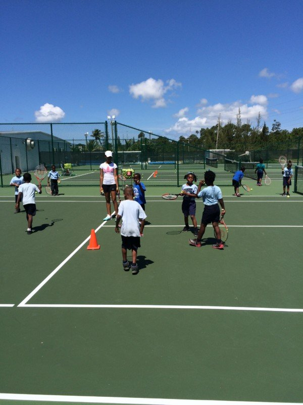 YMCA  Tennis   School  Program