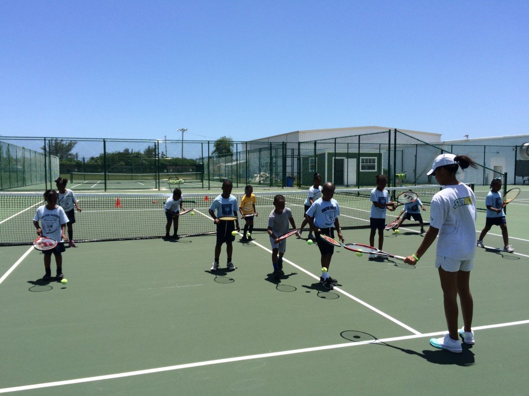 Ymca  Tennis  School  Program  May 22, 2015