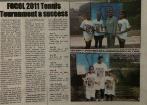 Focol 2011 Tennis Tournament